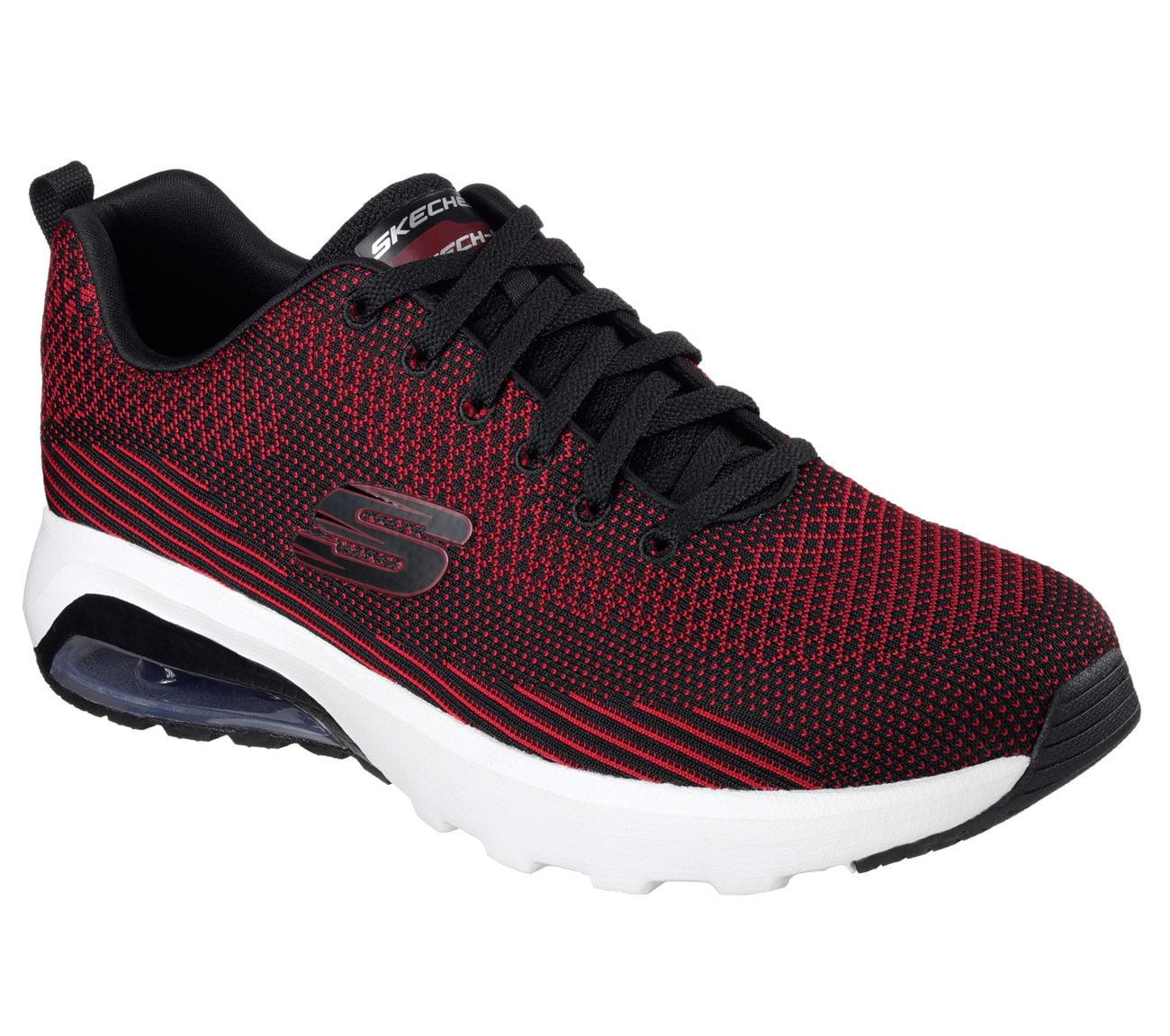 Skechers 51490 BKRD Men's SKECH-AIR VARSITY Sneaker by Skechers