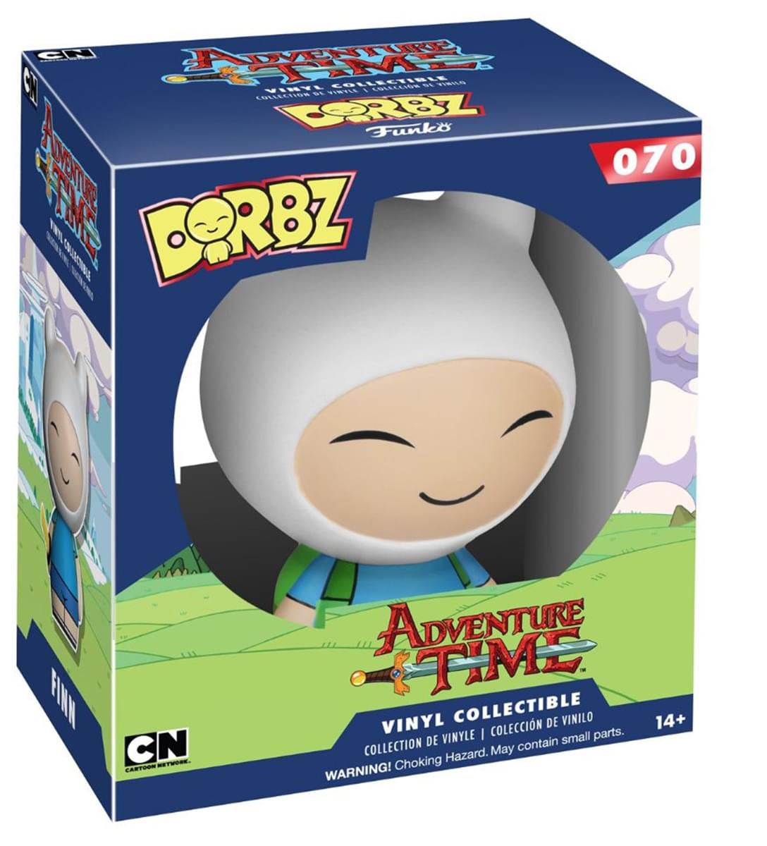 Dorbz: Adventure Time-finn (Funko)