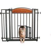 Carlson Home Decor Auto-Close Walk-Through Pet Gate