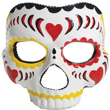 Day of the Dead Female Mask Adult Halloween - Scary Halloween Costumes Diy