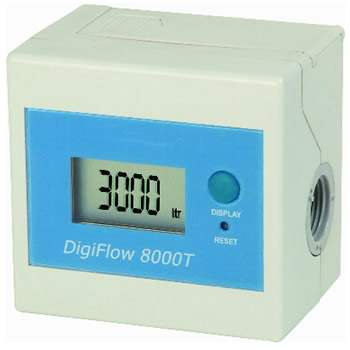 Savant (DF088) Digiflow 8000T Real Time Digital Flow Meter; Gallons