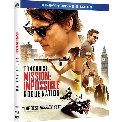 Mission: Impossible - Rogue Nation (Blu-ray + DVD + Digital HD) (With INSTAWATCH)