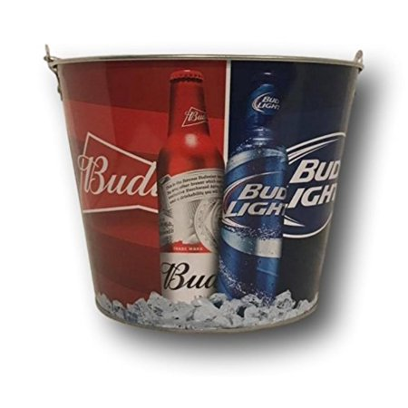 d6aa3fa26 Budweiser Bud Light Beer Bucket, Bucket Holds 6 Beer Bottles Plus Ice By  Boelter