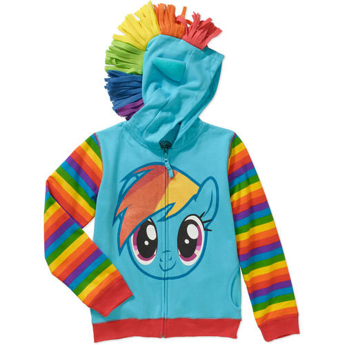 Girls' Rainbow Dash Costume Hoodie