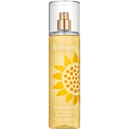 Elizabeth Arden Sunflowers Body Mist Perfume For Women, 8 Fl Oz