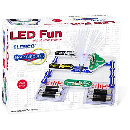 Elenco Electronics SCP-11 Snap Circuits LED Fun Science Kit (Snap Electronics Kit)