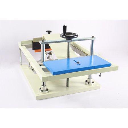 TechTongda Manual Cylinderical Screen Printing Press Pen Mug Bottle Printer  Cylinder Screen Printing Machine #006150