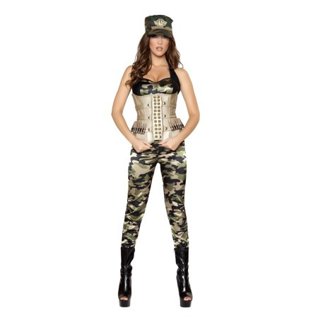 Adult Sexy Sensual Soldier Costume Roma 4331