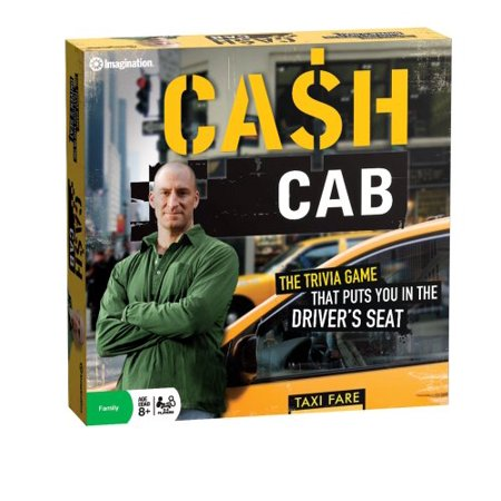 Imagination Cash Cab Board Game - image 1 of 2
