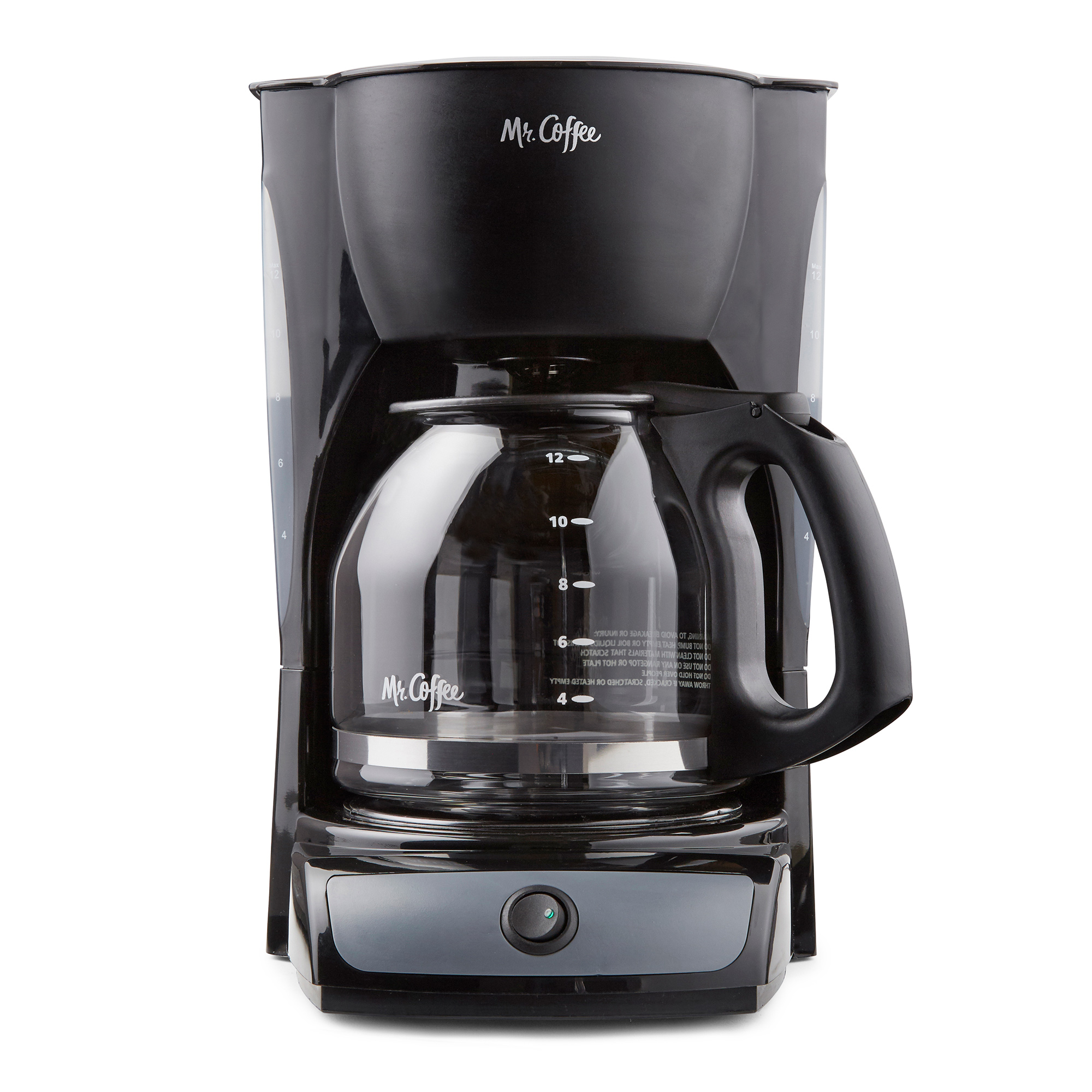Mr. Coffee 12-Cup Switch Coffee Maker, Black (CG13)