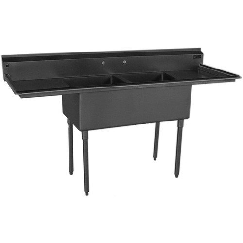 Griffin 73'' x 25.5'' Double Bowl Scullery Sink