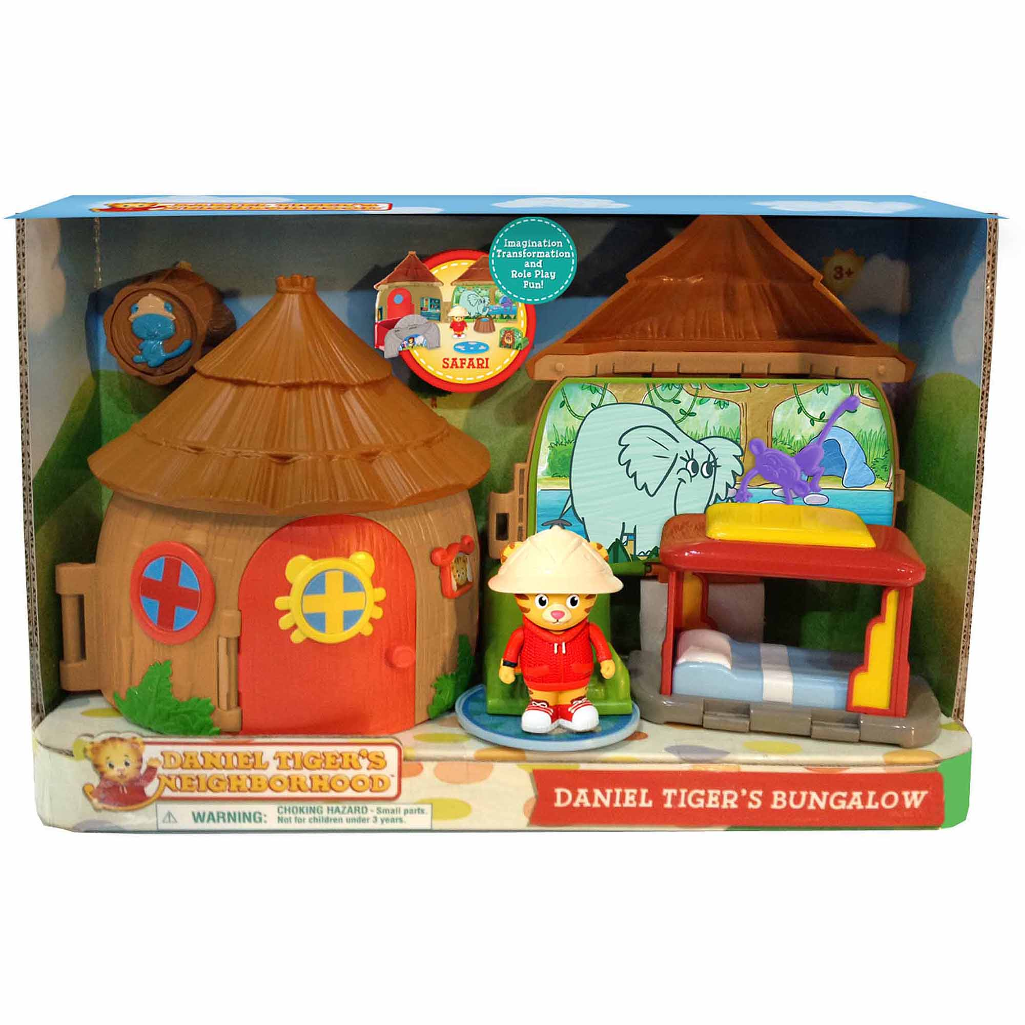 Daniel the Tiger's Neighborhood Bungalow Adventure Play Set
