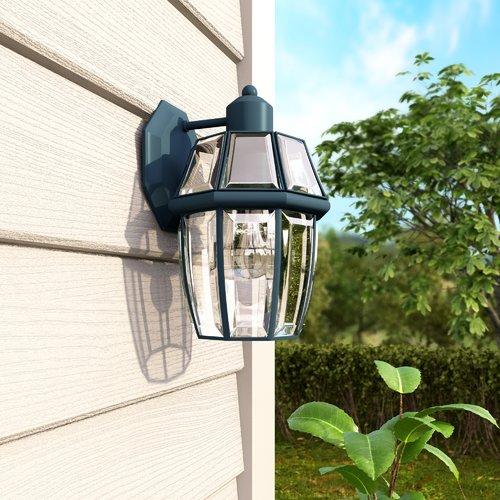 Alcott Hill Stroble 1-Light Outdoor Wall Lantern