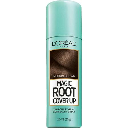 L'Oreal Paris Magic Root Cover Up Gray Concealer Spray](Halloween Black Hair Dye Temporary)