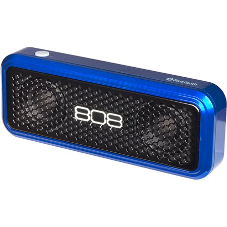 808 HEX XS Portable Bluetooth Speaker, Blue