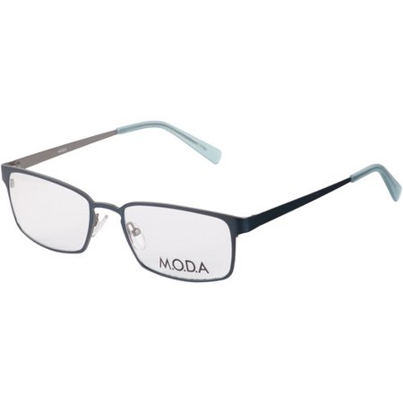 M.O.D.A Unisex Eyeglass Frames, IM402 Blue Green - Walmart.com