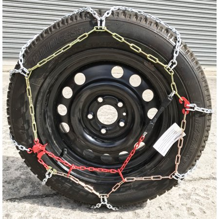 Snow Chains P165/80R15 P165/80 15 TUV Diamond Tire Chains set of 2 - image 3 of 5