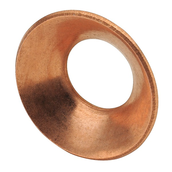 Flare Gasket, 3/8 In, Flare, Copper, PK 10