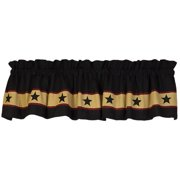 Black Barn Star Country Valance