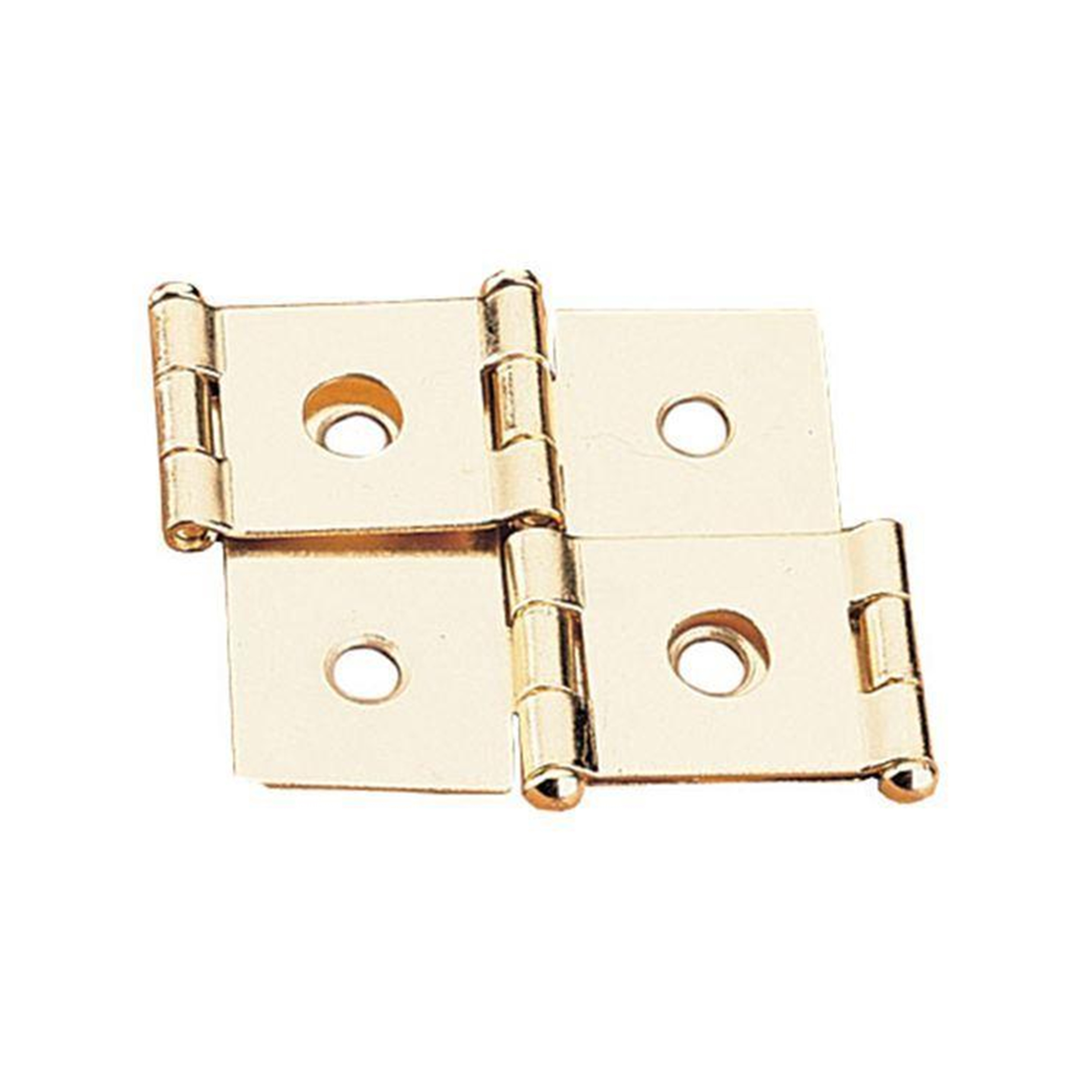 Highpoint 105 Degree Stop Hinge Antique Brass Plated 2 Pair