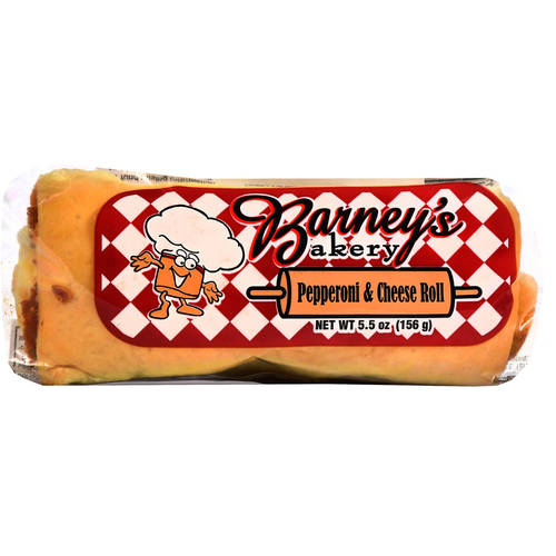 Barney's Bakery Pepperoni & Cheese Roll, 5.5 oz