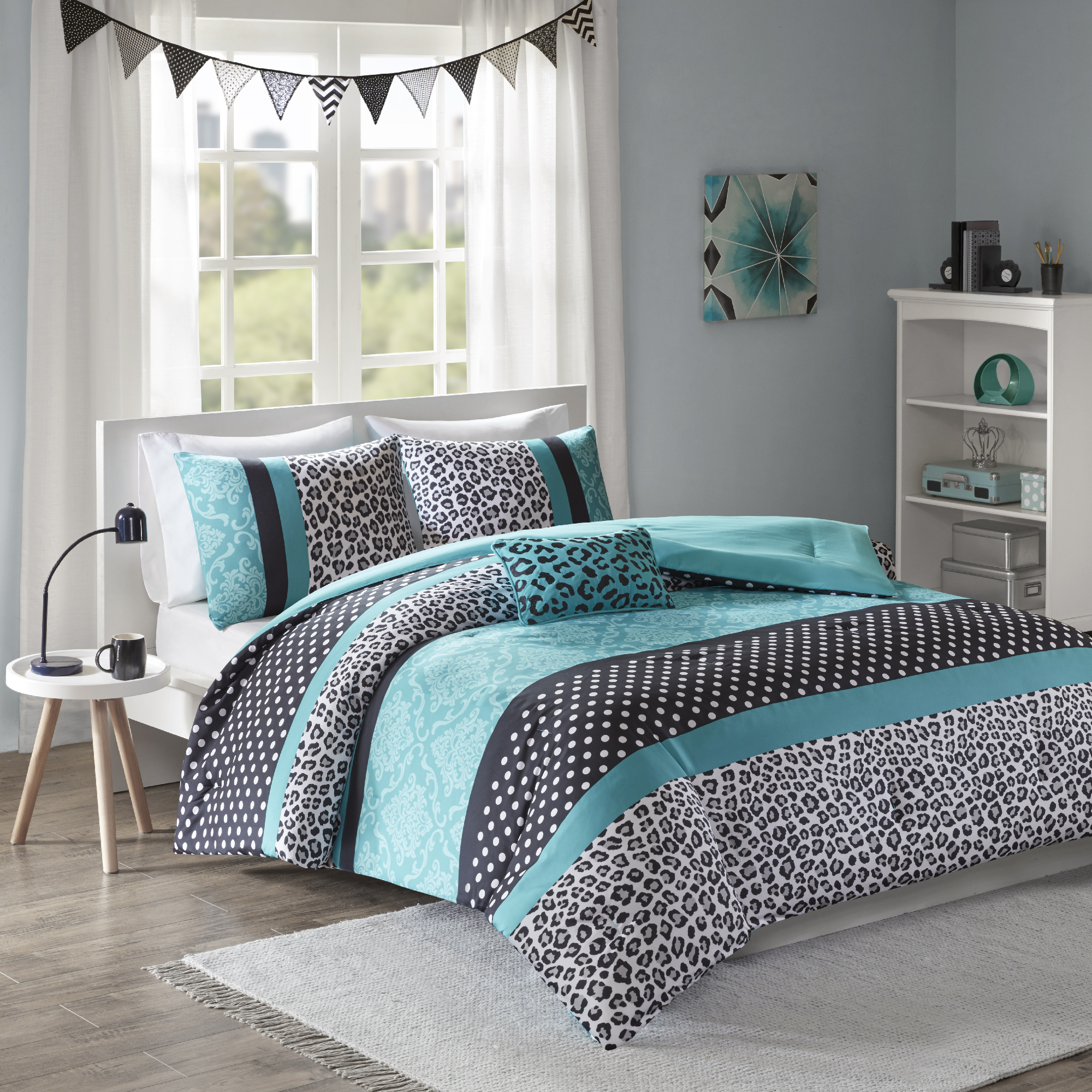 Home Essence Teen Christa Ultra Soft Comforter Bedding Set