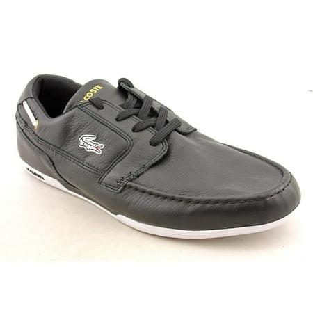 3defdd0412765 Lacoste - Lacoste Dreyfus Moc Toe Leather Boat Shoe - Walmart.com