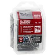 Itw Teks 21536 Screw Lathe Drill Pt 8X1-5/8 4 Pack