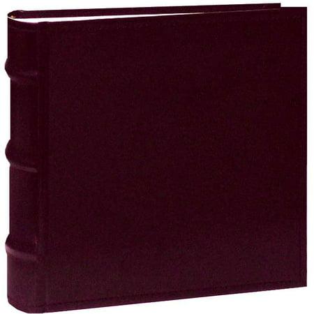 Pioneer Photo Albums CLB146-BU Leather Bi-Directional Album 4X6 1-UP 100 Photo Burgundy 4x6 Bi Directional Photo Album