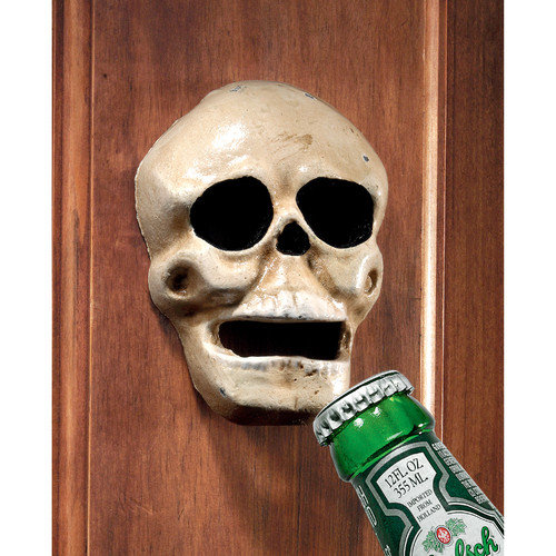 Design Toscano Evil Skull Bottle Opener