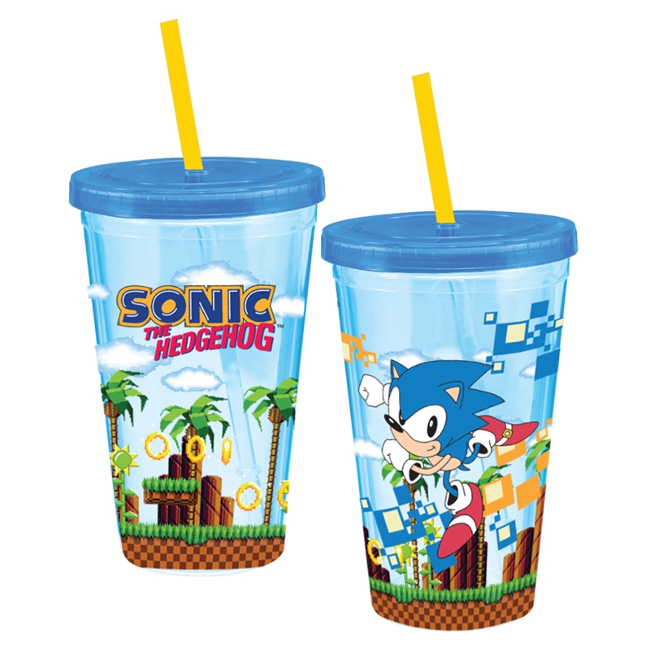 Sonic the Hedgehog 18 oz. Acrylic Travel Cup
