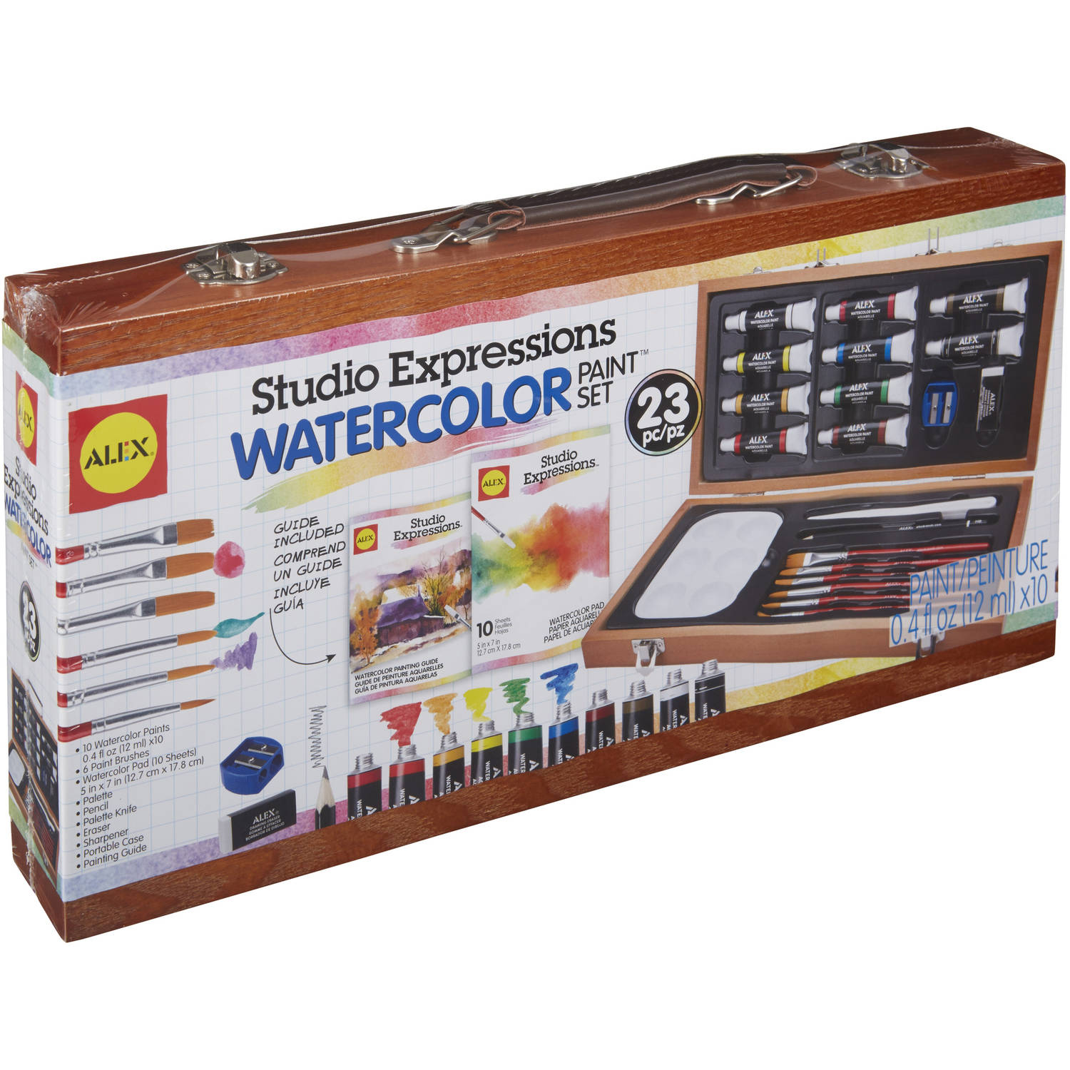 ALEX Art Studio Expressions Watercolor Painting Set by Alex Brands