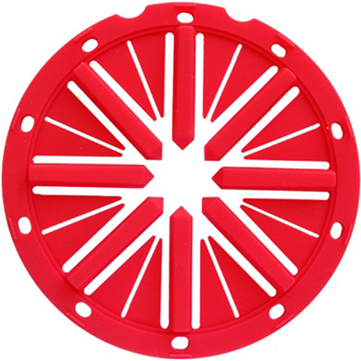 KM Spine Rotor Loader Feed Lid - Red