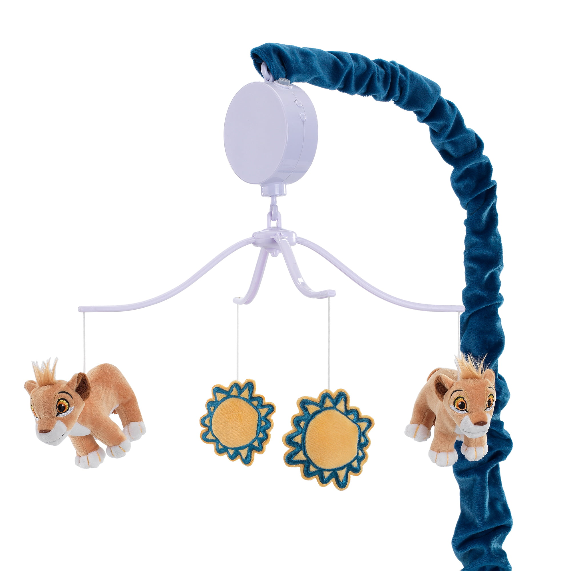 Click here to buy Disney Baby Lion King Adventure Musical Baby Crib Mobile by Lambs & Ivy Blue by Lambs %26 Ivy.