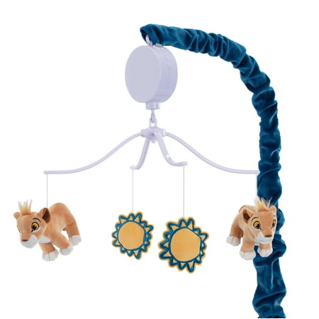 Disney Baby Lion King Adventure Musical Baby Crib Mobile  by  Lambs & Ivy - Blue ()