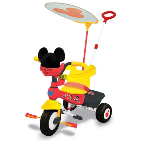 Kiddieland Disney Mickey Mouse Clubhouse Deluxe Push N' Ride Trike