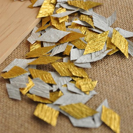 Gold Confetti. Handcrafted in 1-3 Business Days. The Great Gatsby Party Decorations. Wedding Table Confetti.