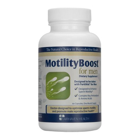 MotilityBoost for Men Fertility Supplement: Support Sperm Motility, 60