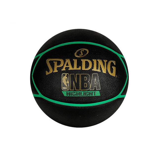 Spalding Highlight Green basketball Rbr size 29.5""