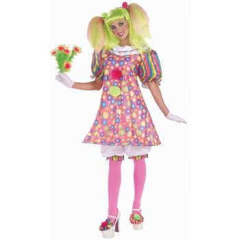 Cute Clown Costumes For Adults (Tickles the Clown Adult)