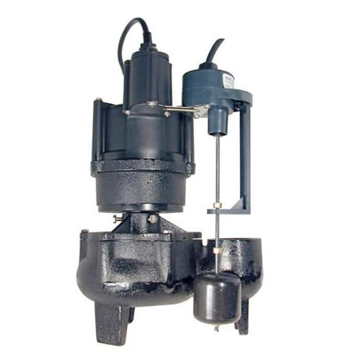 Bur-Cam Pumps  400500E 1/2HP Replacement Sewage Pump For Easy Flush System Bur-Cam Model 450475