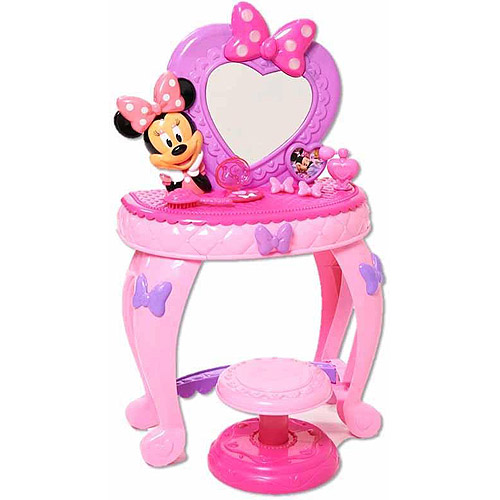 minnie s bow tique minnie mouse bowdazzling vanity walmart