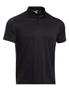 87a7e0da Product Image under armour 1237526 men's black soas coldback short sleeve polo  shirt