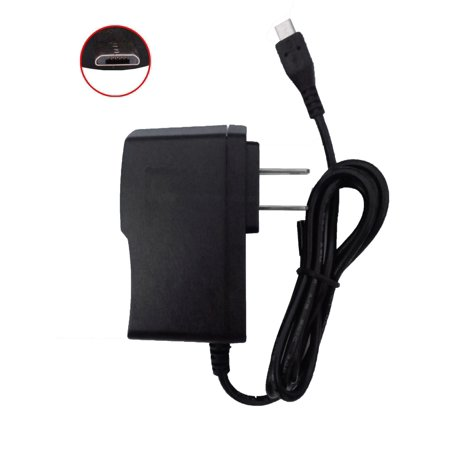 micro USB AC Wall Charger for Samsung Blue Earth / C3520 / Caliber R850 / Code SCH-i220 / Convoy 3 ()