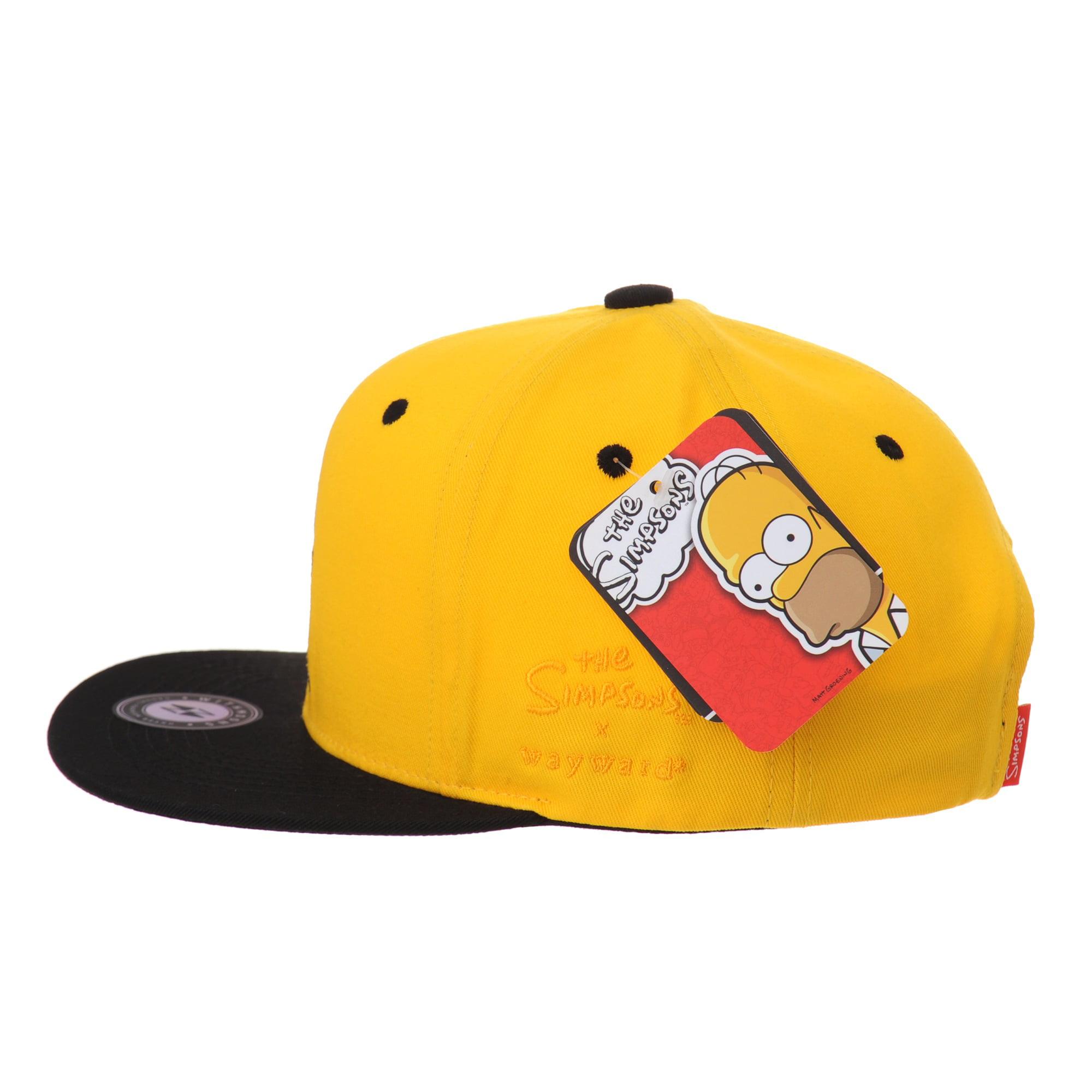 WITHMOONS The Simpsons Baseball Cap Superman Snapback Hat HL2657 (White) -  Walmart.com 7d6aeb286442