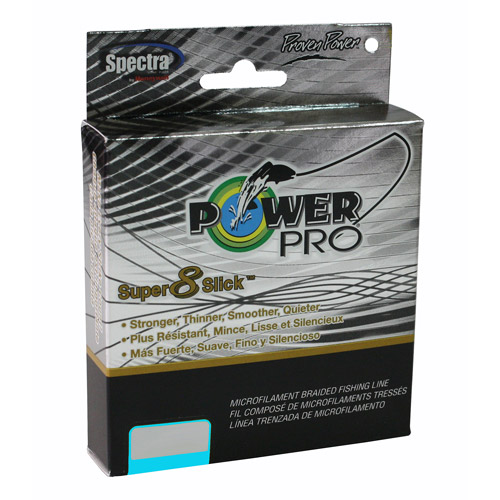 Power Pro 20-lb Super 8 Slick Braid, 300 yds