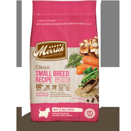 Merrick Classic Small Breed Recipe Dry Dog Food, 4