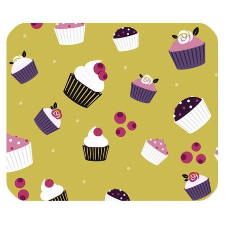 Vintage Ice (MKHERT Vintage Design Ice Cream Cakes Mini Cake Rectangle Mousepad Mat For Mouse Mice Size 9.84x7.87 inches )