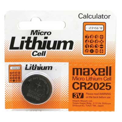 Cr2025 Coin Cell Battery - CR2025 Battery