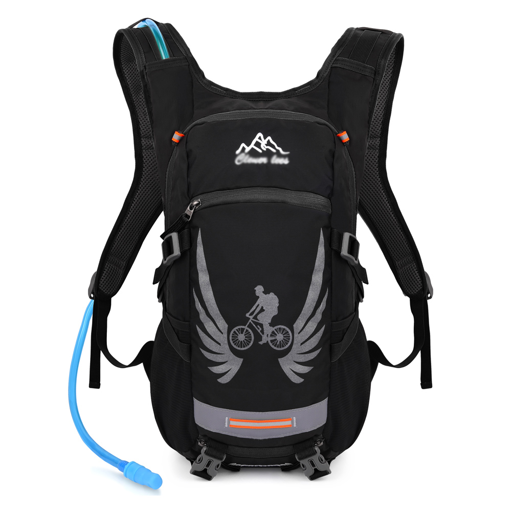 Hydration Pack with 2 L Water Bladder Splash-proof Backpack for Hiking, Cycling, Running, Climbing by